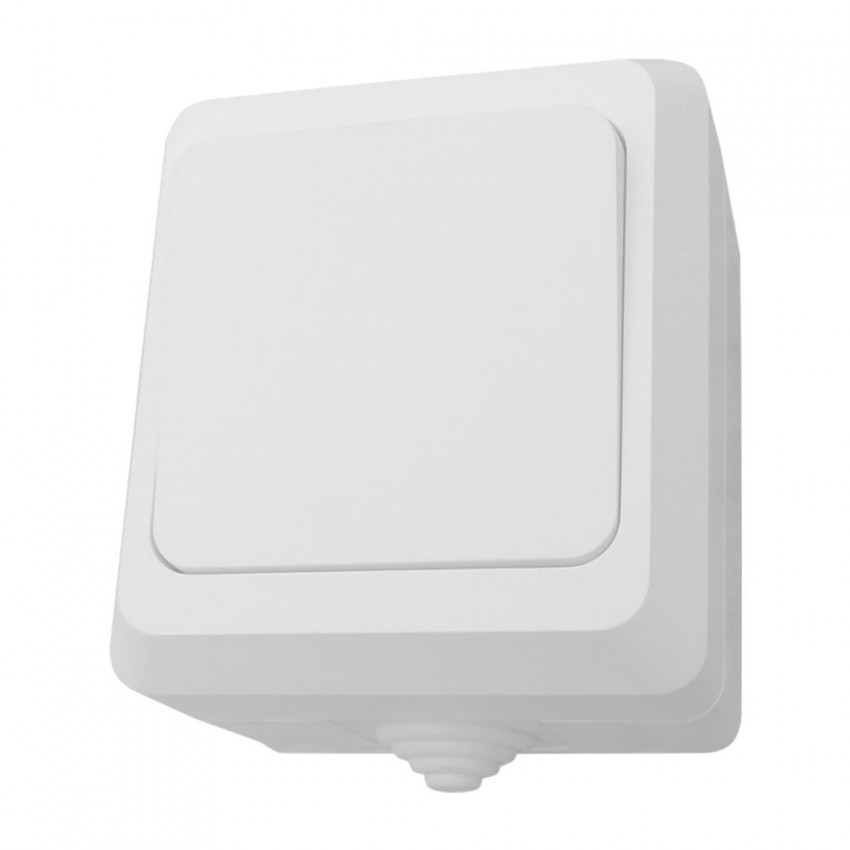 Interruptor Simple Superficie Estanco de Exterior