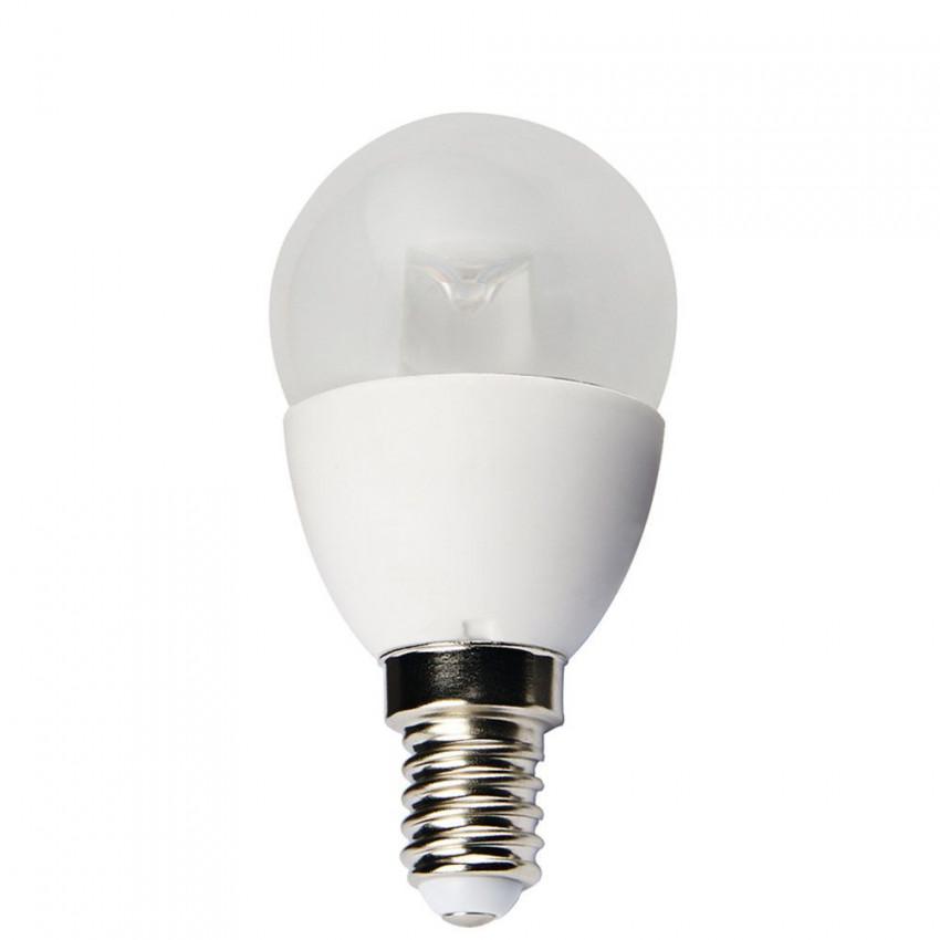 Bombilla LED Esférica E14 6W 25000h