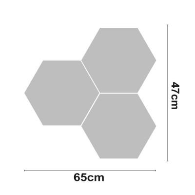 Figura LED VERTEX Decorativa 30W 2400lm 4000K 47x65cm