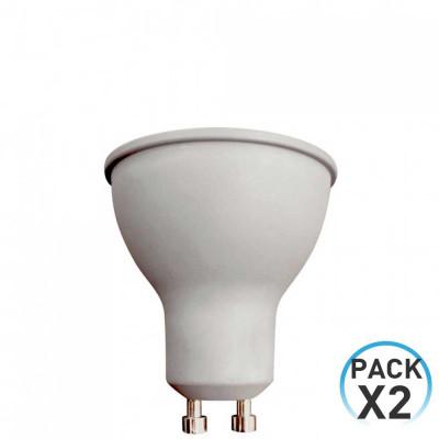 Pack 2 Bombillas LED Spotlight GU10 8W Equi.60W 700lm 25000H