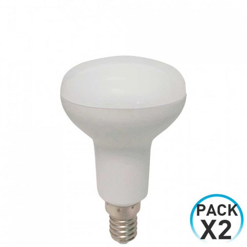 Pack 2 Bombillas LED Reflectora E14 5W Equi.40W 470lm 25000H