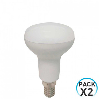 Pack 2 Bombillas LED Reflectora E14 5W Equi.40W 470lm 25000H