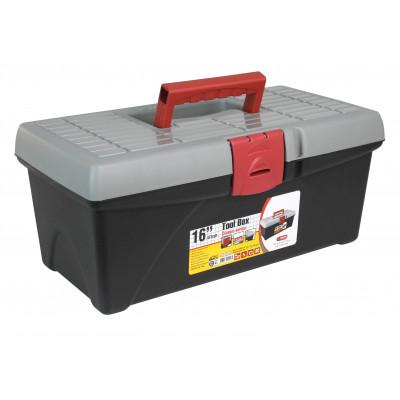 """Caja de Herramientas con Bandeja 16"""" 17,4x40,8x21,8cm"""