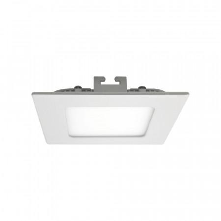 Mini Downlight LED Ultraslim Empotrable Cuadrado 8W 600lm 10,5x10,5cm Blanco 7hSevenOn