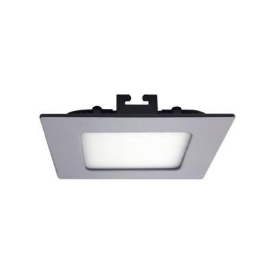 Mini Downlight LED Ultraslim Empotrable Cuadrado 8W 600lm 10,5x10,5cm Aluminio 7hSevenOn