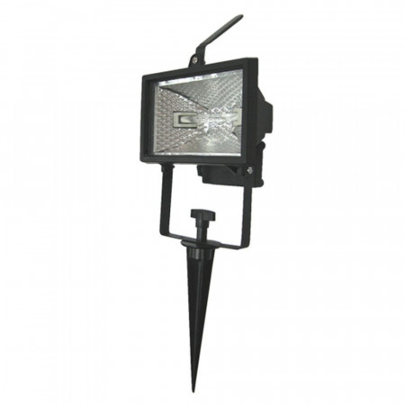 Proyector Halógeno de Exterior Orientable 120W Negro 2700K 7hSevenOn Outdoor
