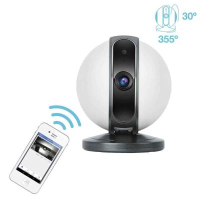 Cámara de Seguridad Inteligente WiFi Motorizada 360° vía Smartphone/APP 7hSevenOn Home