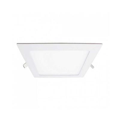 Downlight LED Ultraslim Empotrable Cuadrado 9W 720lm 13x13cm 3000K Blanco Eilen