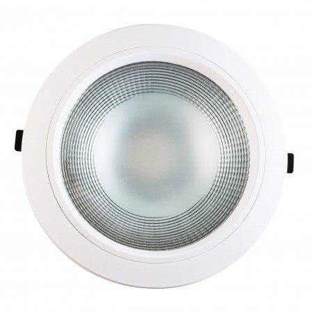 Downlight LED Empotrable Redondo 24W 2280lm Ø20cm 4000K Blanco Eilen