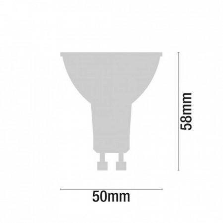 Pack 3 Bombillas LED Spotlight GU10 7,4W Equi.50W 540lm 3000K 15000H 7hSevenOn
