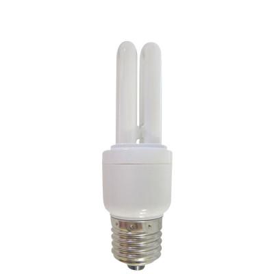Bombilla CFL Bajo Consumo Mini 2U E27 11W 528lm 2700K 1Primer Leader