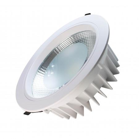 Downlight LED Empotrable Redondo 24W 2280lm Ø20cm 4000K Blanco Eilen