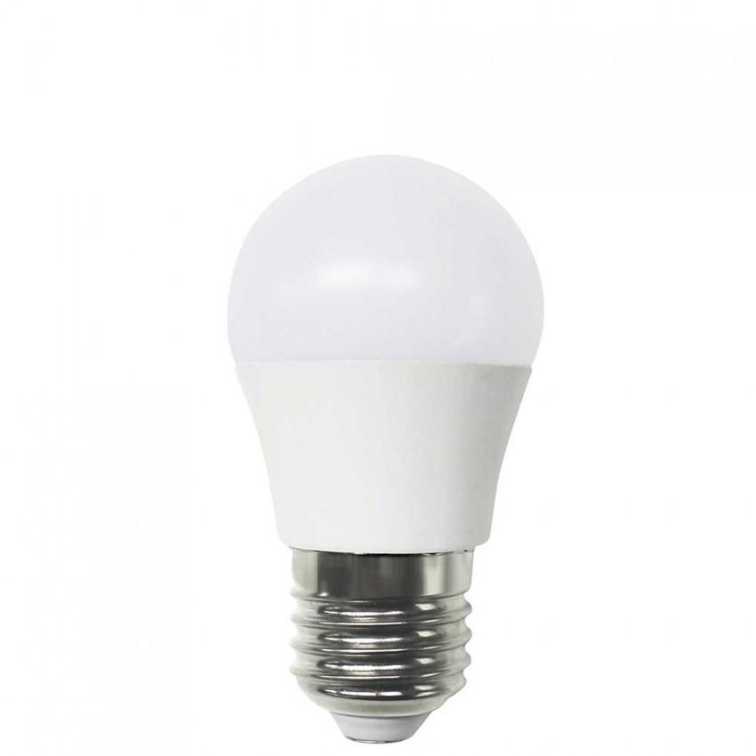 Bombilla LED Esférica E27 6W Equi.40W 470lm 4000K 15000H 1Primer Low Cost