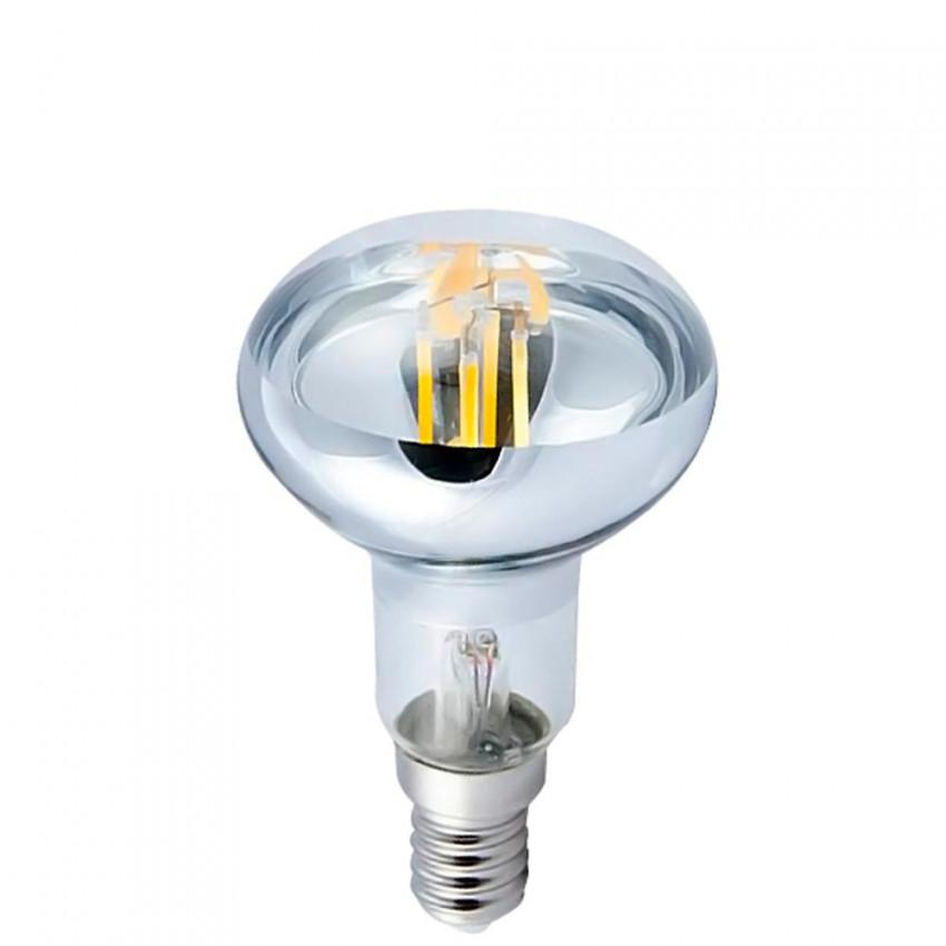 Bombilla LED Filamento Reflectora E14 6W Equi.40W 470lm 4000K 15000H 7hSevenOn