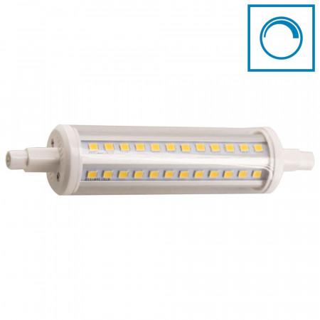 Bombilla LED Tubo R7S 9W Equi.60W 806lm Regulable 4000K 25000H 7hSevenOn