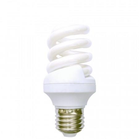 Bombilla CFL Bajo Consumo Espiral E27 15W 825lm 2700K 1Primer Leader