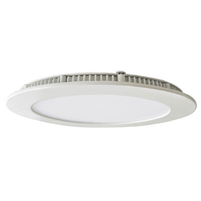 Downlight LED Ultraslim Empotrable Redondo 18W 1600lm Ø21cm 4000K Blanco 7hSevenOn