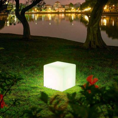 Cubo Decorativo 25x25cm E27 7hSevenOn Outdoor