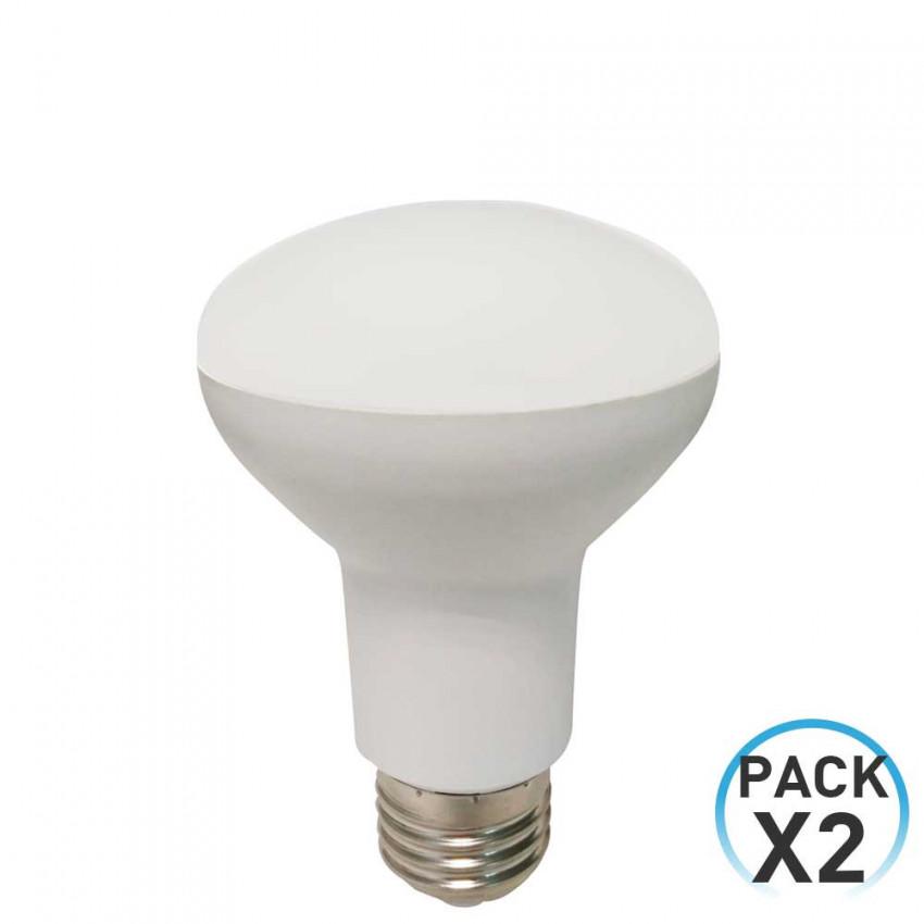 Pack 2 Bombillas LED Reflectora E27 9W Equi.60W 806lm 4000K 25000H Eilen