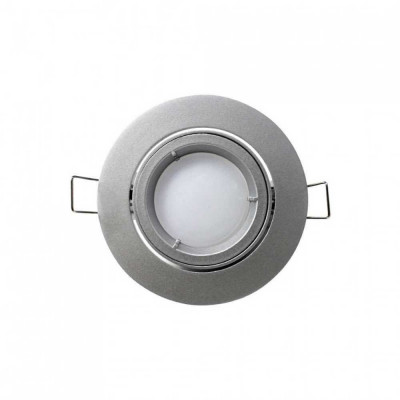 Foco LED Empotrable Orientable Redondo GU10 7W 560lm Ø7cm Blanco 7hSevenOn