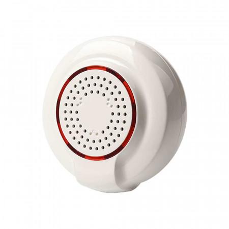 Pack 4 Sirenas WiFi de Alta Potencia para Sensores y Alarmas vía Smartphone/APP 7hSevenOn Home