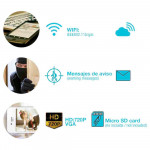 Pack 2 Cámaras de Seguridad Inteligentes WiFi Motorizadas 360° vía Smartphone/APP 7hSevenOn Home