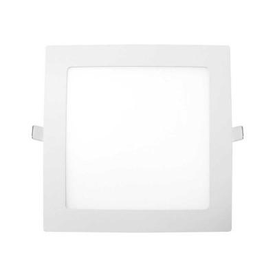 Downlight LED Ultraslim Empotrable Cuadrado 15W 1100lm 20,5x20,5cm 4000K Blanco 7hSevenOn