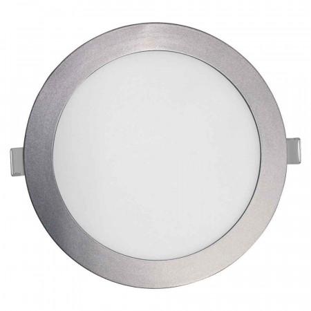 Downlight LED Ultraslim Empotrable Redondo 26W 2400lm Ø21cm 4000K Aluminio 7hSevenOn