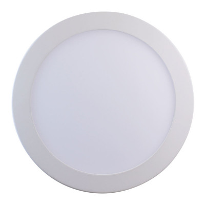 Downlight LED Ultraslim Empotrable Redondo 22W 1900lm Ø21cm 4000K Blanco 7hSevenOn