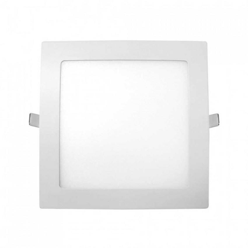 Downlight LED Ultraslim Empotrable Cuadrado 20W 1600lm 20,5x20,5cm 6000K Blanco Eilen