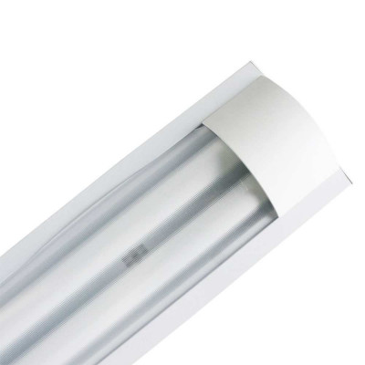 Luminaria Fluorescente 2x18W Tubos T8 G13 2600lm 4000K Blanco 7hSevenOn