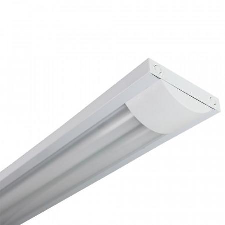 Luminaria Fluorescente 2x36W Tubos T8 G13 4200lm 4000K Blanco 7hSevenOn