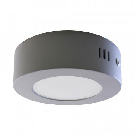 Mini Downlight LED Superficie Redondo 8W 600lm Ø12cm 4000K Aluminio 7hSevenOn