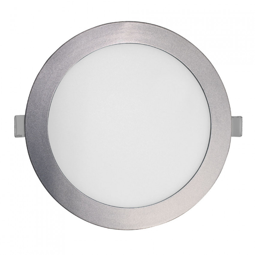 Downlight LED Ultraslim Empotrable Redondo 22W 1900lm Ø21cm 4000K Aluminio 7hSevenOn LED