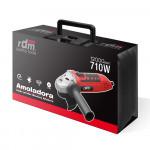 Amoladora Angular 710W con Disco Ø115mm RDM PRO Quality Tools