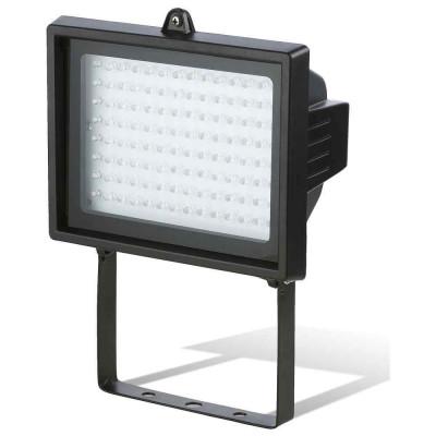 Proyector LED 8W Orientable de Exterior Negro 6000K 7hSevenOn