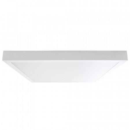 Downlight LED Superficie Cuadrado 24W 2100lm 40x40cm 4000K Blanco 7hSevenOn Deco