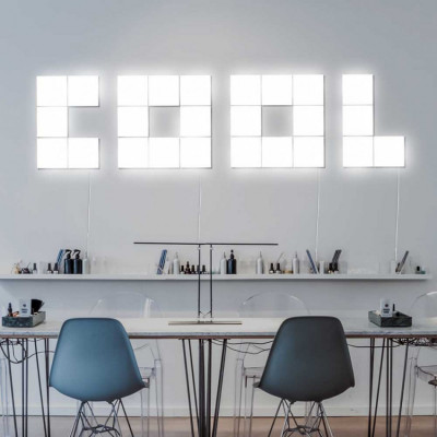 Palabra LED COOL Decorativa 75W 5000lm 4000K 45x180cm 7hSevenOn Deco