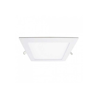 Downlight LED Ultraslim Empotrable Cuadrado 12W 450lm 10,5x10,5cm 4000K Blanco Eilen