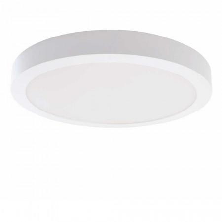 Downlight LED Superficie Redondo 24W 2100lm Ø40cm 4000K Blanco 7hSevenOn Deco LED