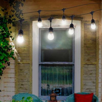 Guirnalda Decorativa 10 Luces de Exterior 10m IP44 7hSevenOn Outdoor