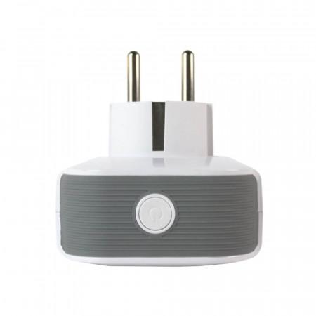 Pack 4 Enchufes Inteligentes WiFi con USB control vía Smartphone/APP 7hSevenOn Home