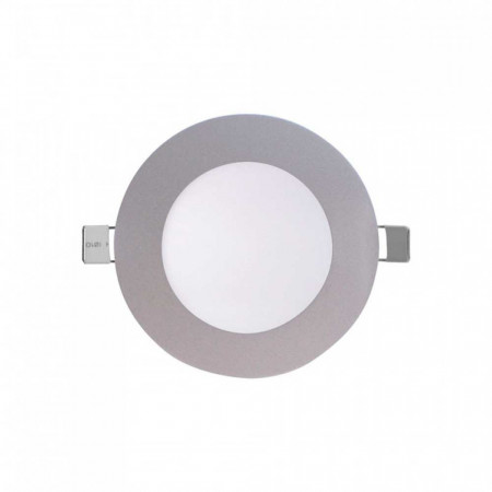 Mini Downlight LED Ultraslim Empotrable Redondo 4W 300lm Ø7cm 4000K Aluminio 7hSevenOn