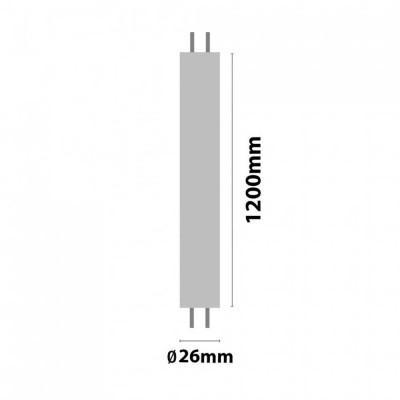 Tubo LED T8 G13 1200mm 18W 1620lm 3000K 30000H Eilen