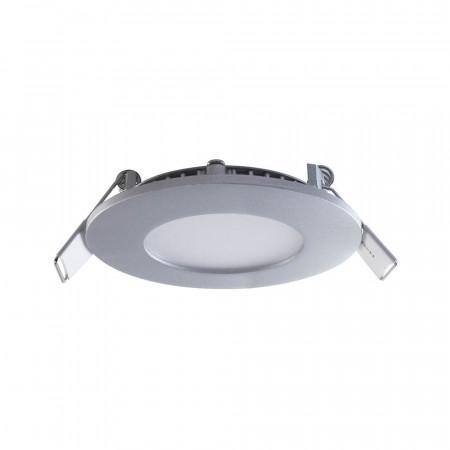 Pack 3 Mini Downlight LED Ultraslim Empotrable Redondo 4W 300lm Ø7cm 4000K Aluminio 7hSevenOn