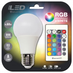 Bombilla LED Estándar E27 9W Equi.60W 806lm RGB 25000H 7hSevenOn