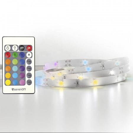 Extensión Tira LED RGB 1m IP20 6W 7hSevenOn