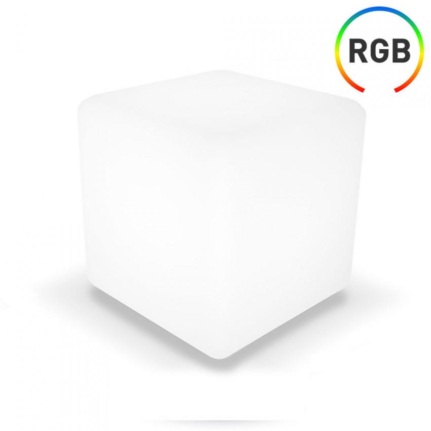 Cubo LED RGB Decorativa 30x30cm con Mando 7hSevenOn Outdoor