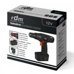 Taladro Atornillador 550rpm de Batería 12V Ni-MH RDM Quality Tools
