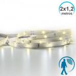 Tira LED Especial para Cama o Cuna 2x1,2m IP20 con Sensor de Movimiento 7hSevenOn